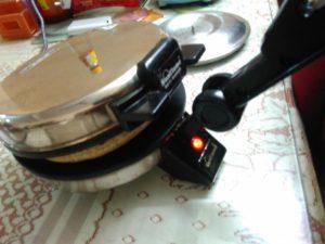 using a roti maker