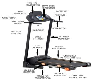 Kobo 125 Treadmill - best treadmills for home use