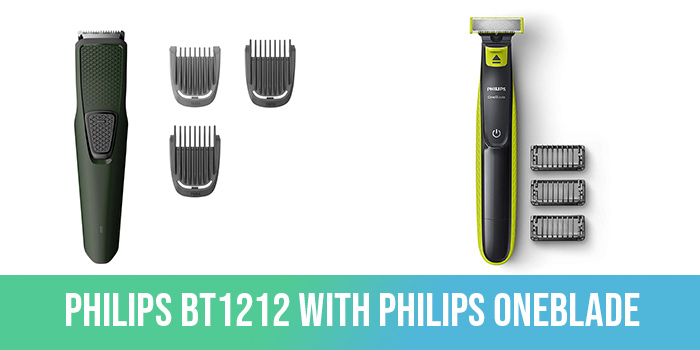 philips bt1212 vs philips oneblade
