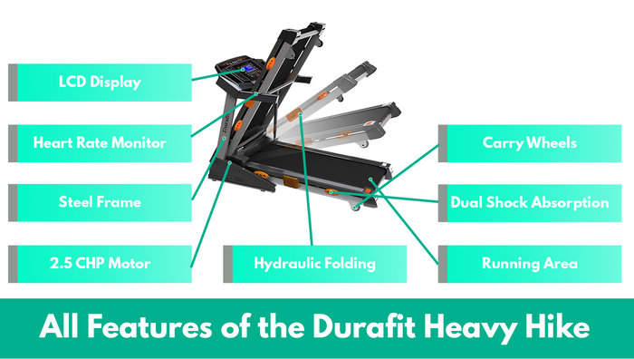 durafit heavy hike all features