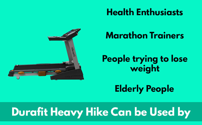 durafit heavy hike can be used by