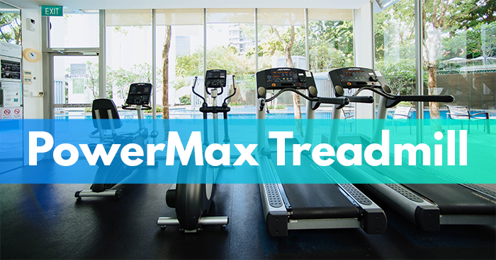 powermax treadmill header image