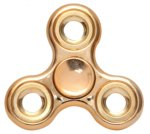 Golden Fidget Spinner