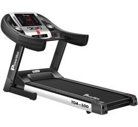 TDA-100 Semi Auto lubrication Motorized Treadmill with Auto Incline