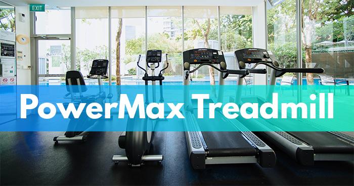 powermax treadmill header image